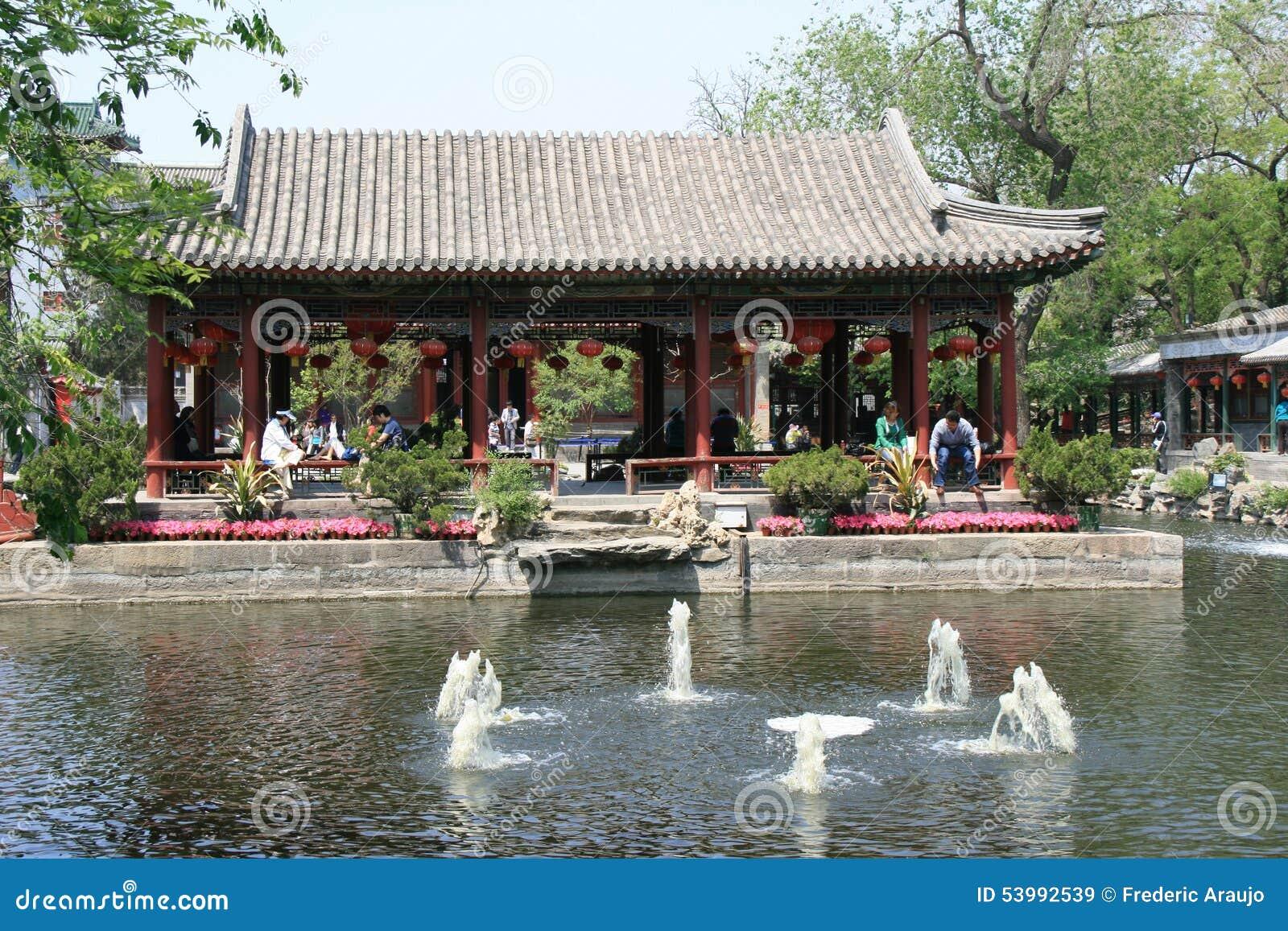 Pawilon - książe gongu dwór - Pekin, Chiny - (4)