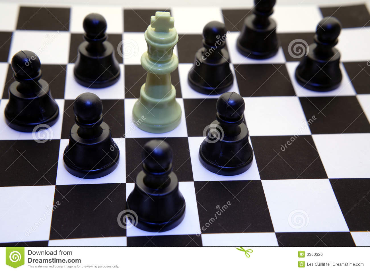 Pawns Checkmate King Royalty Free Stock Image Image 3360326