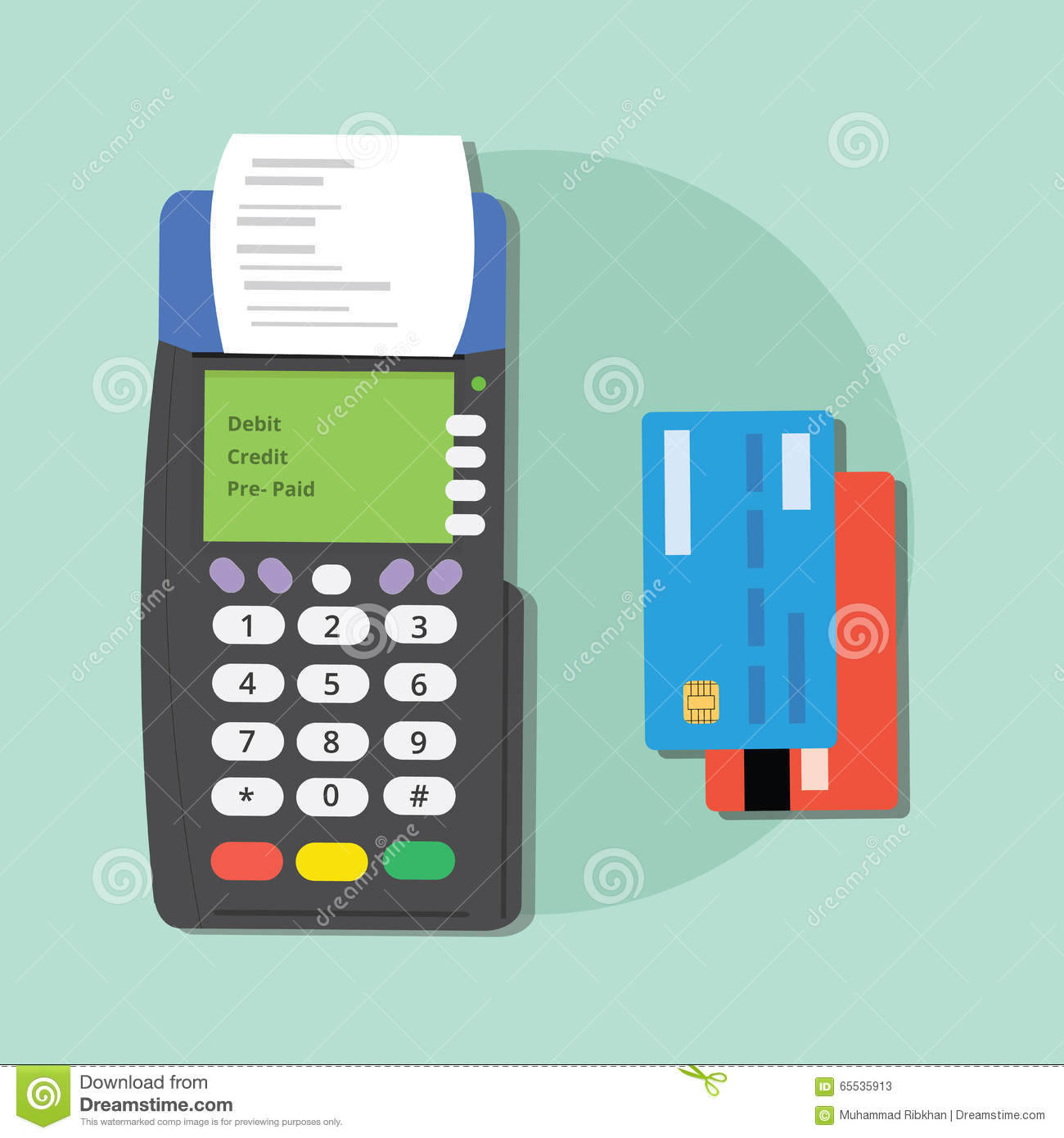 how to find the merchant id on debit machine
