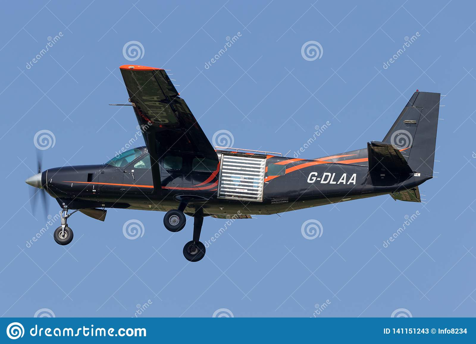 Cessna 208 Caravan Light Aircraft G-DLAA Used For Skydiving