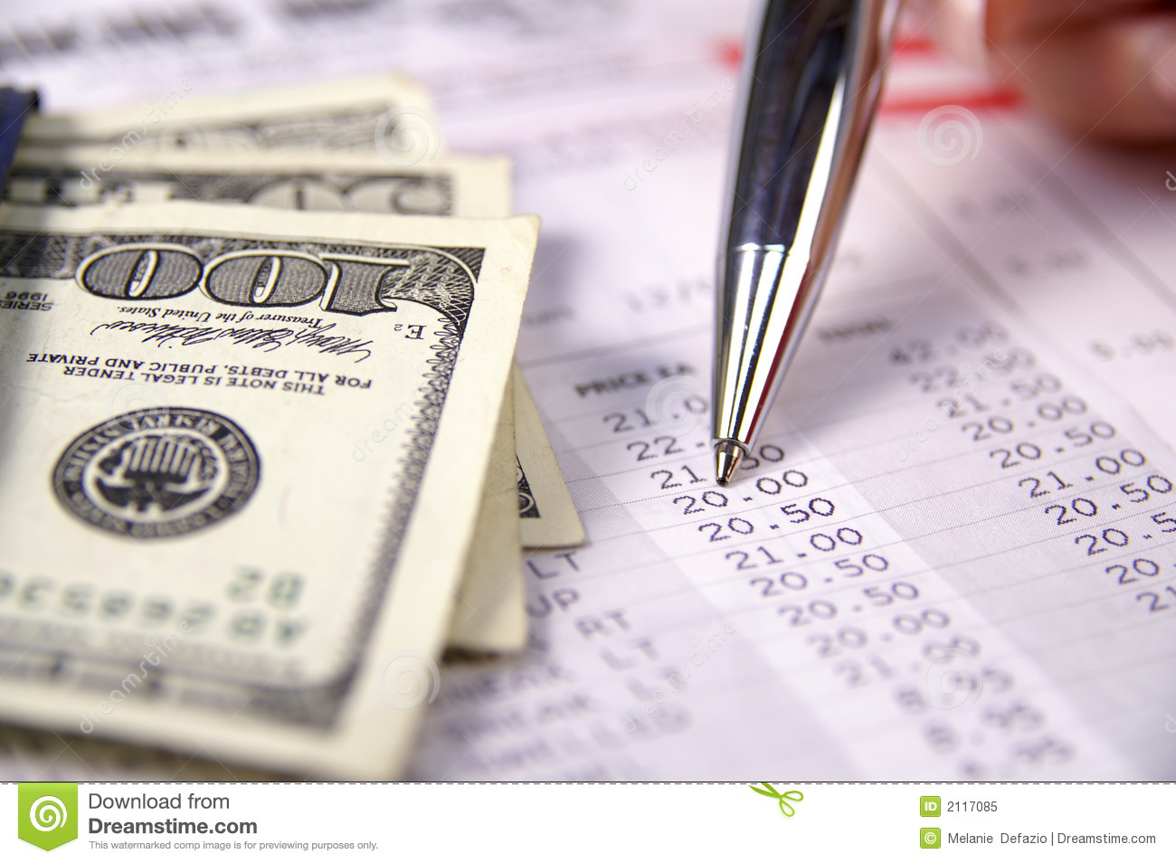 Paying Bills Royalty Free Stock Photo Image 2117085