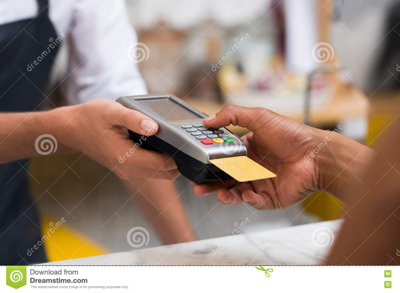Paying by credit card reader stock photo image of business download paying by credit card reader stock photo image of business cashier 73916668 colourmoves