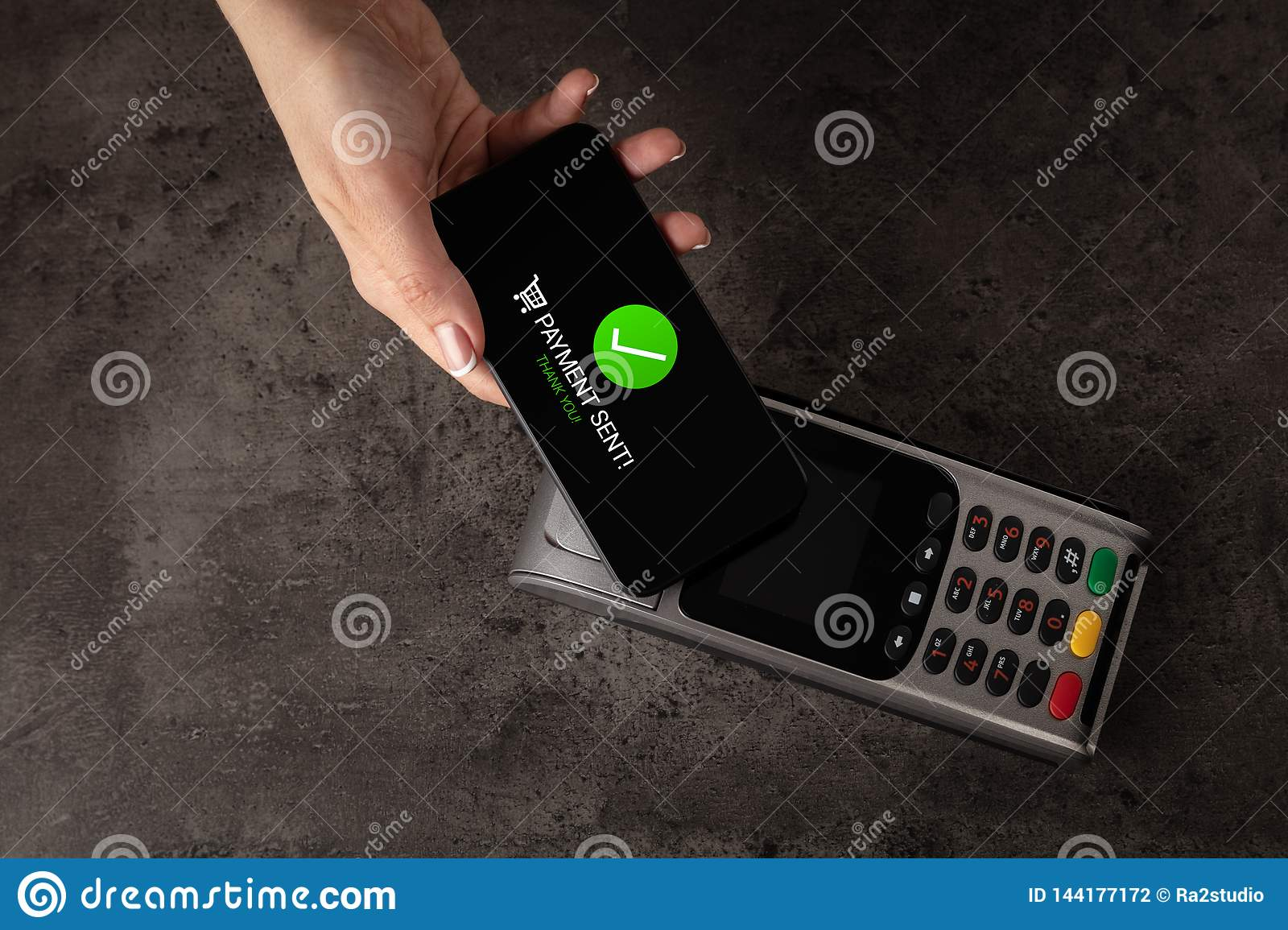 Payment accepted on terminal