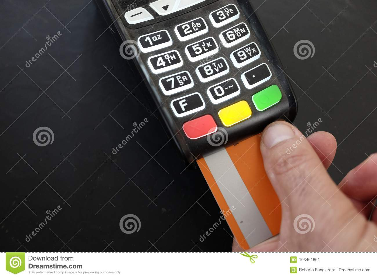 Payment with pos