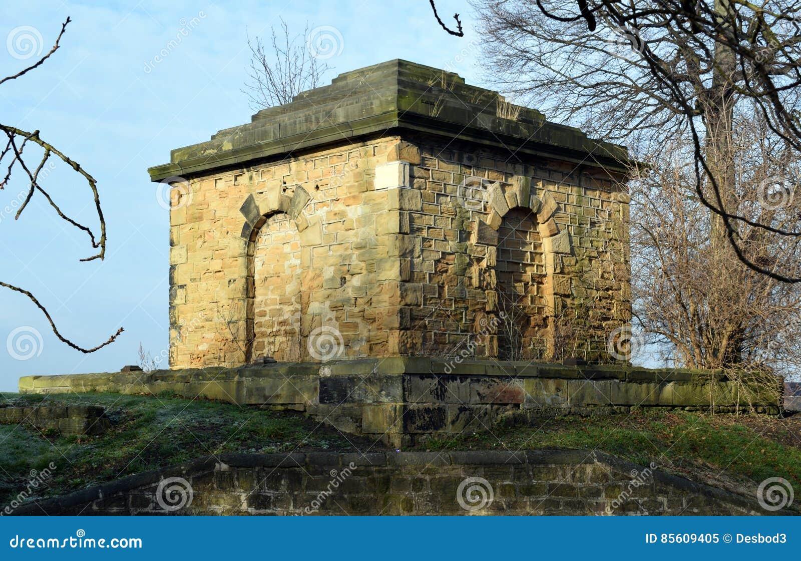 Payne Mausoleum Grade 2 Listed English Heritage Building