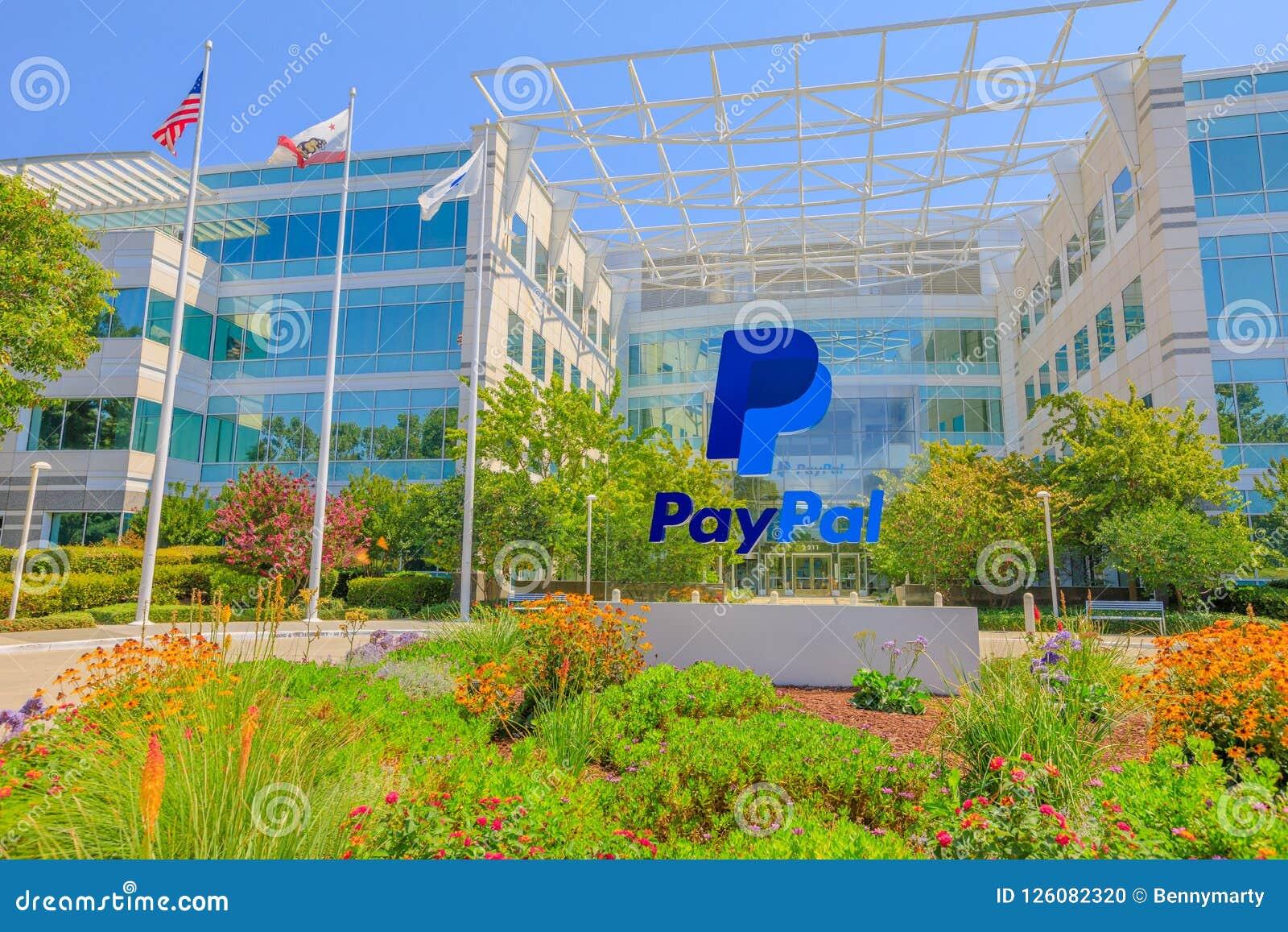 Paypal zaznacza San Jose Kalifornia