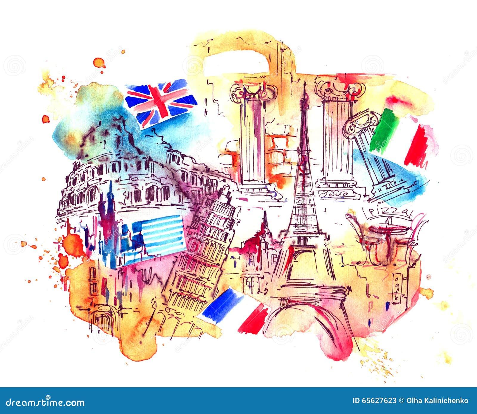 Pays d attraction du monde