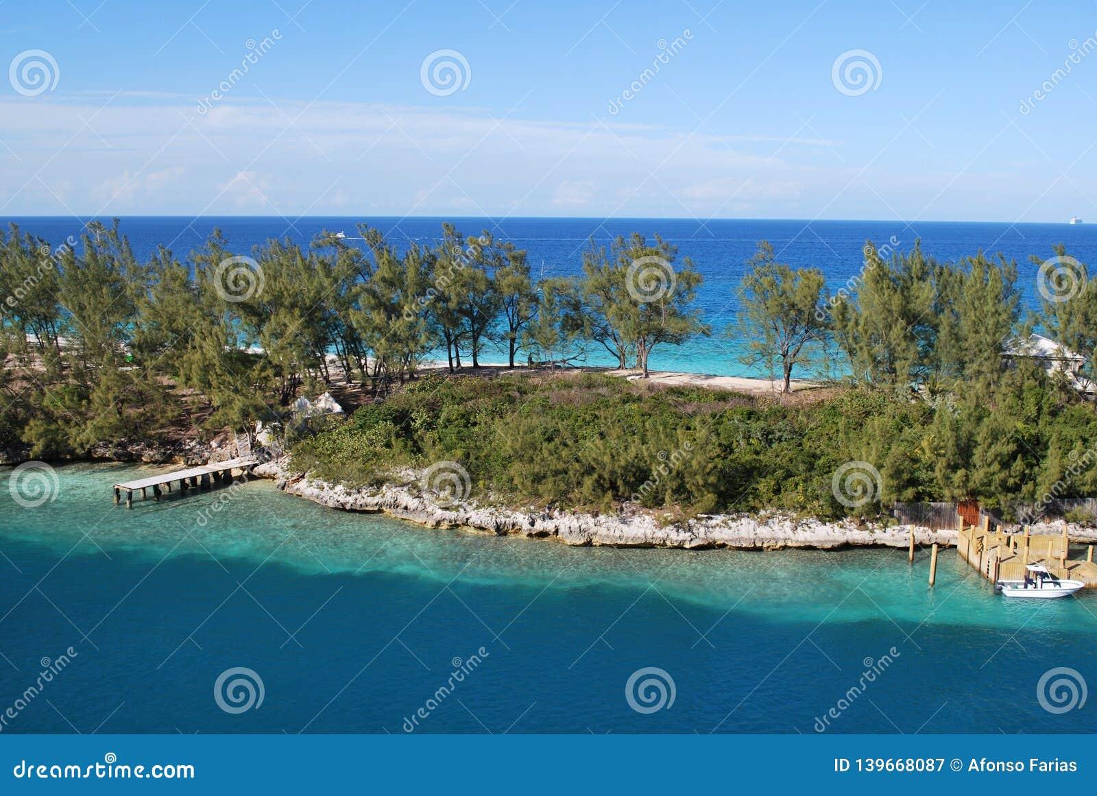 Paysage à Nassau, Bahamas