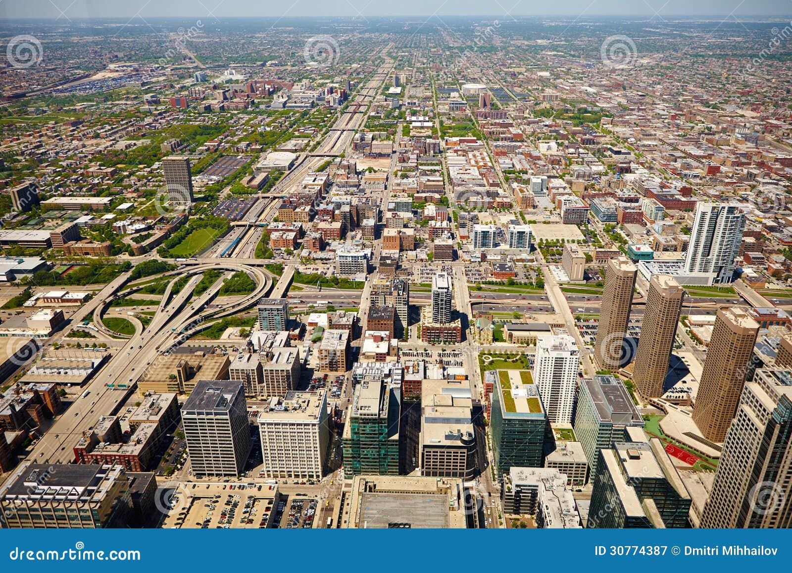 Paysage am ricain de ville image stock image du for Paysage de ville