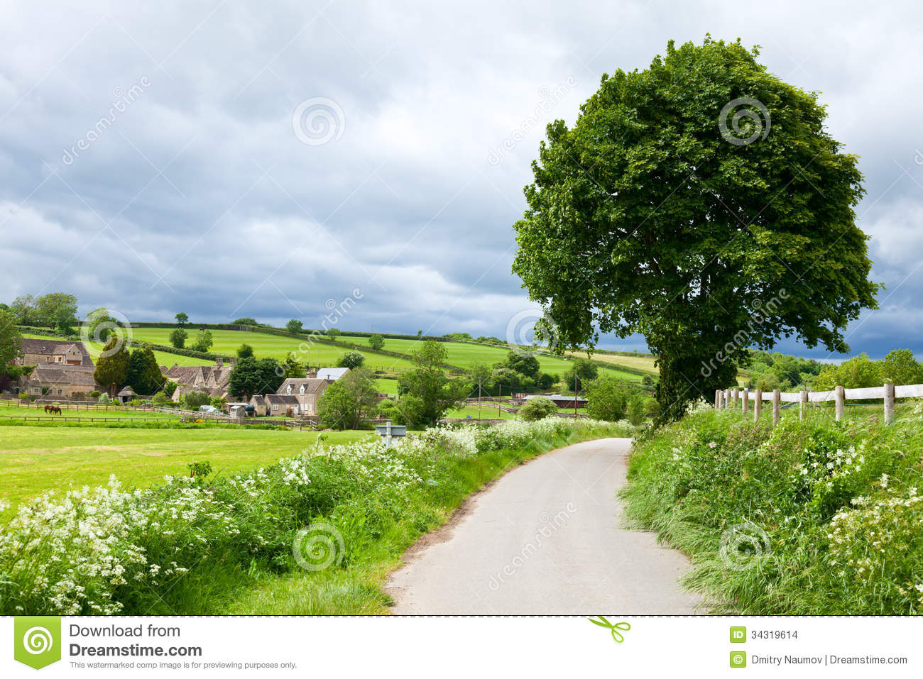 Paysage Anglais D 39 T Images Stock Image 34319614
