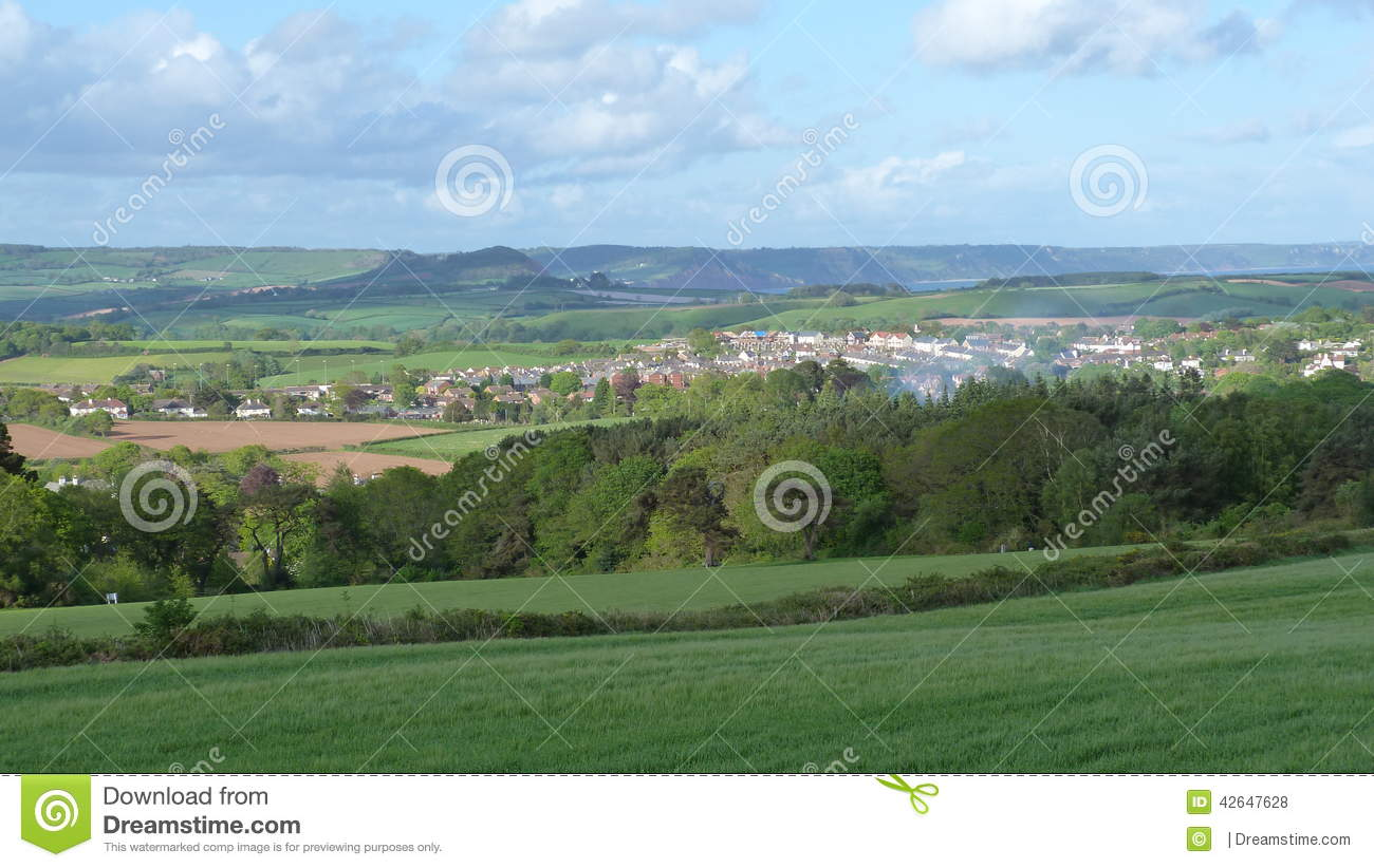 paysage anglais en devon photo stock image 42647628