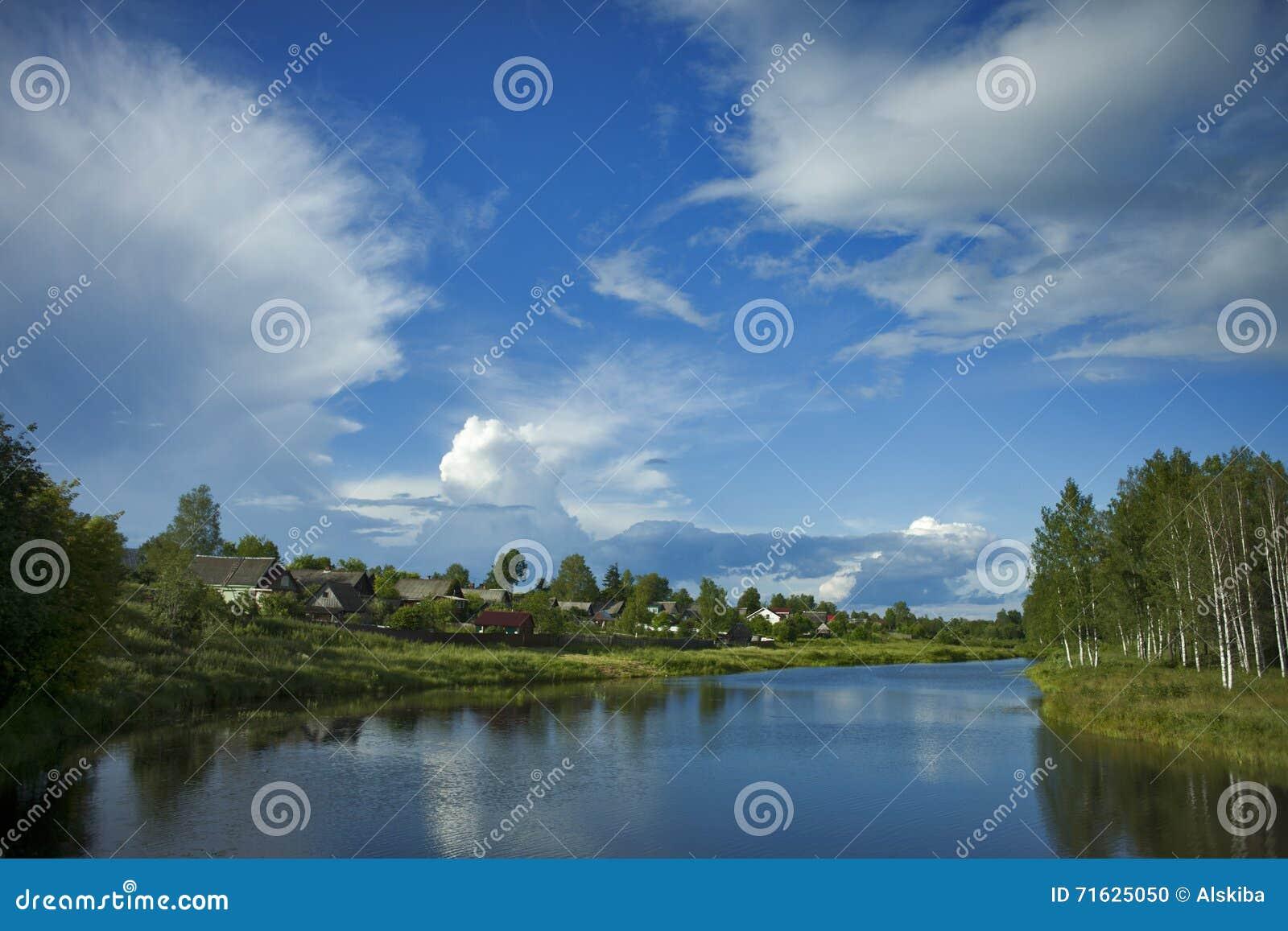 Paysage d été de Malaya Vishera