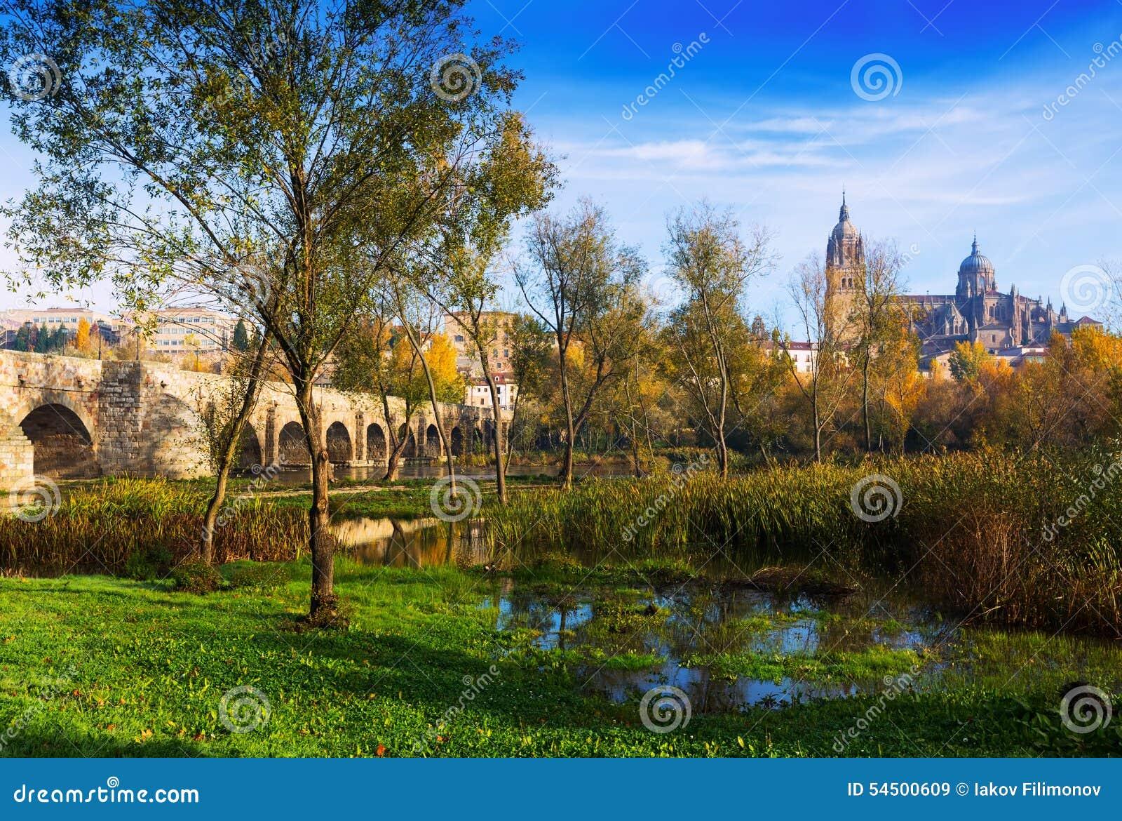 Paysage d automne à Salamanque