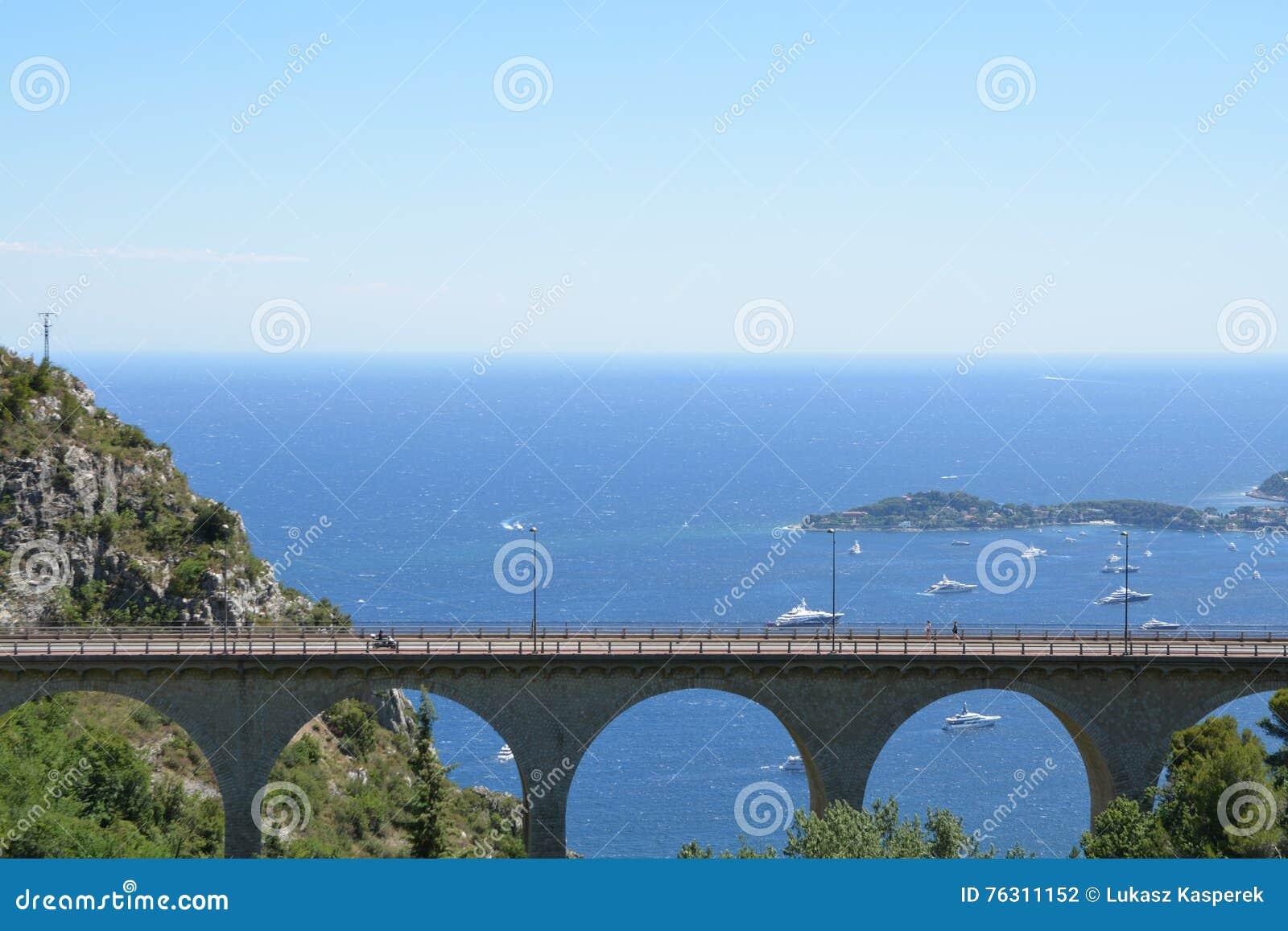 Paysage de la Provence - Eze