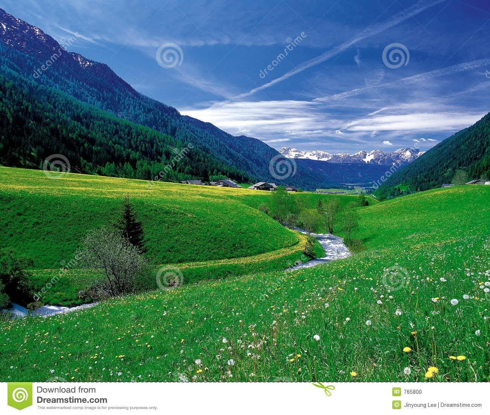 Paysage de nature photo stock image du nuages espace for Paysage espace