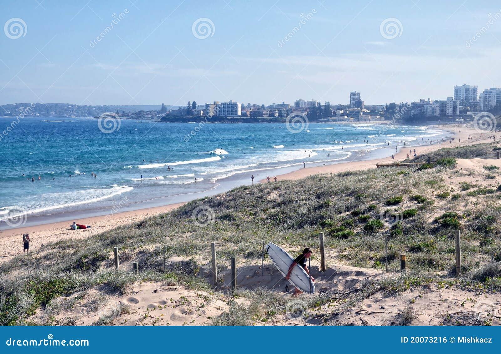 Paysage de plage de ville photo ditorial image du hommes for Paysage de ville