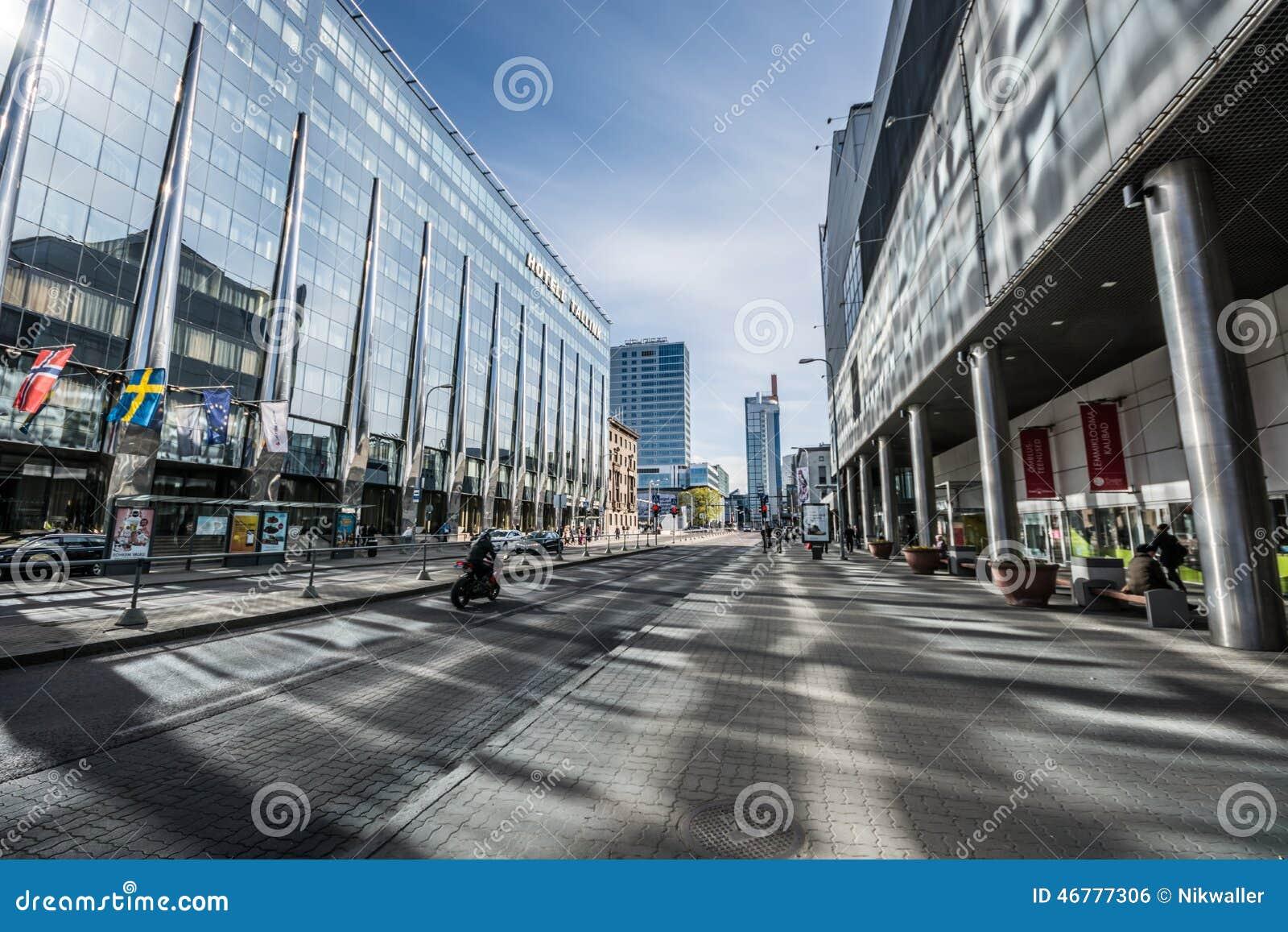 Paysage de ville tallinn estonie photo ditorial image for Paysage de ville