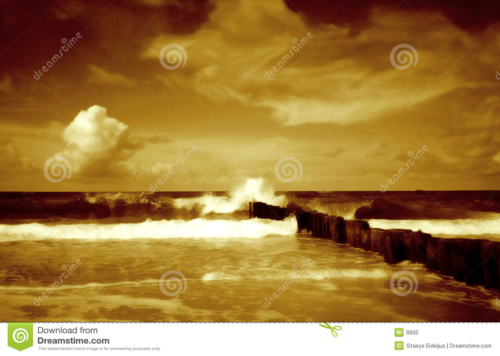 Paysage marin II