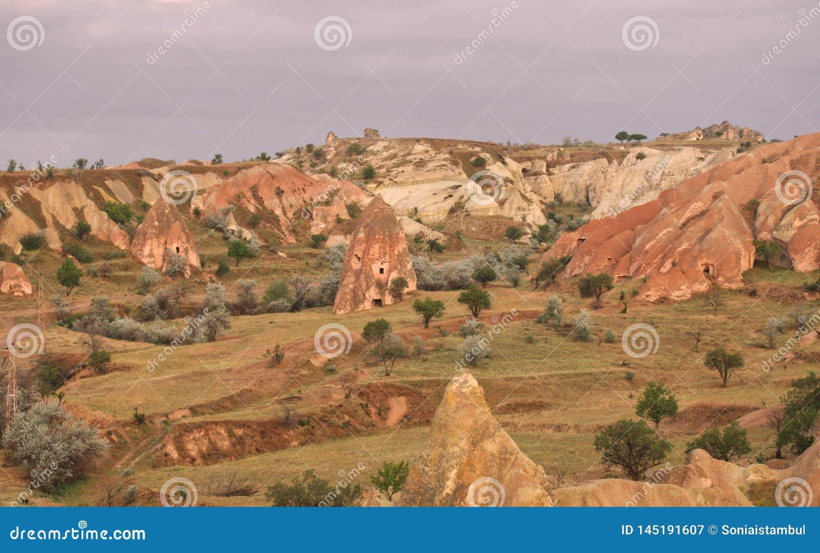 Paysage rural d Urgup