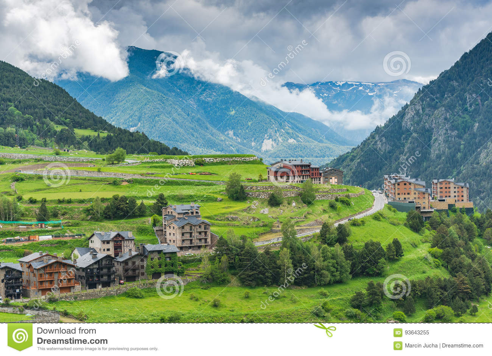 andorre paysage