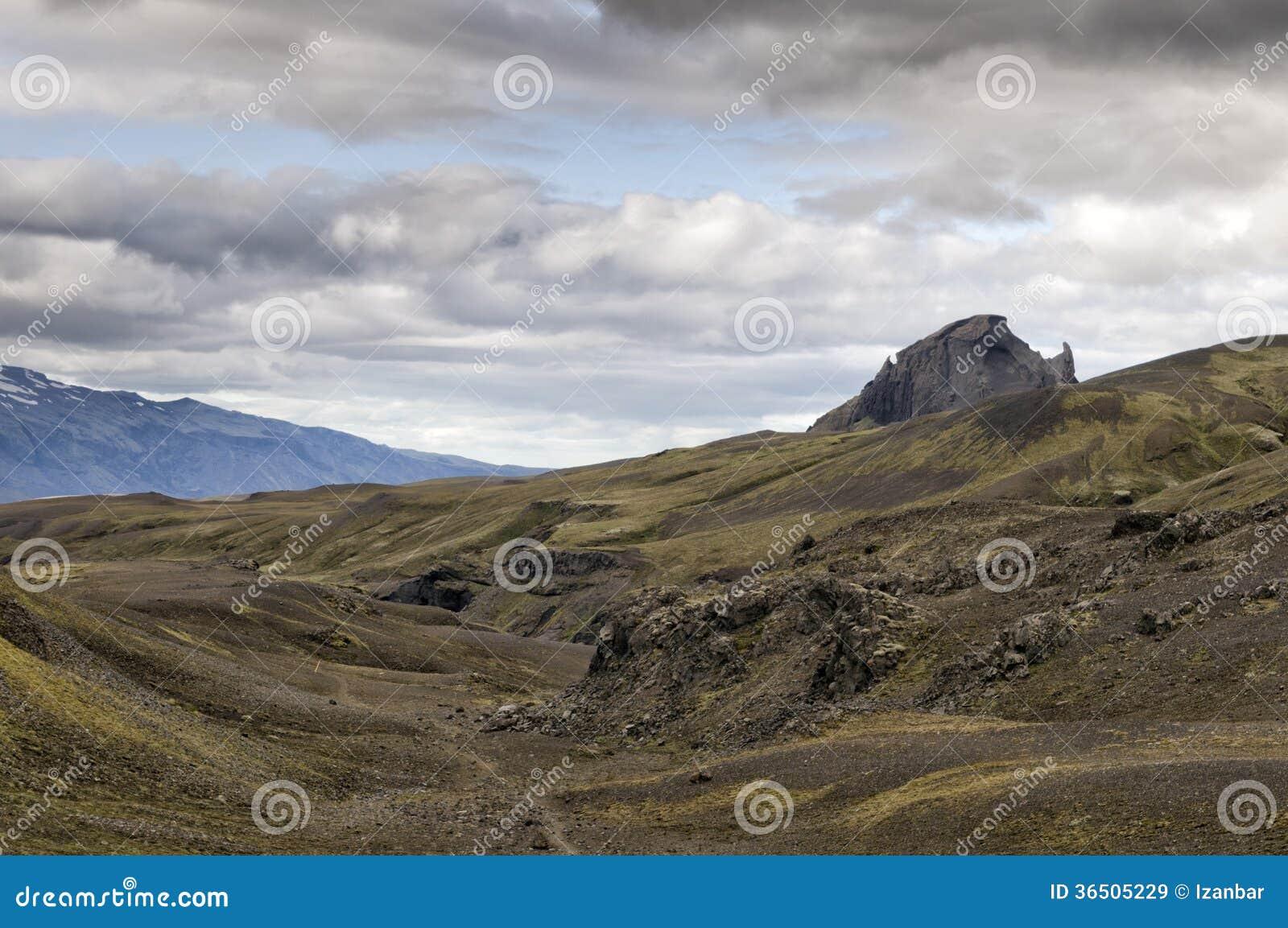 Paysage sauvage de l Islande
