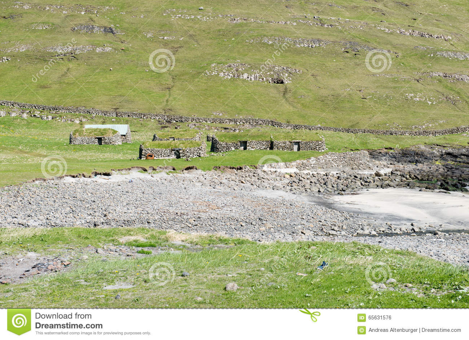 Paysage sur les Iles Féroé