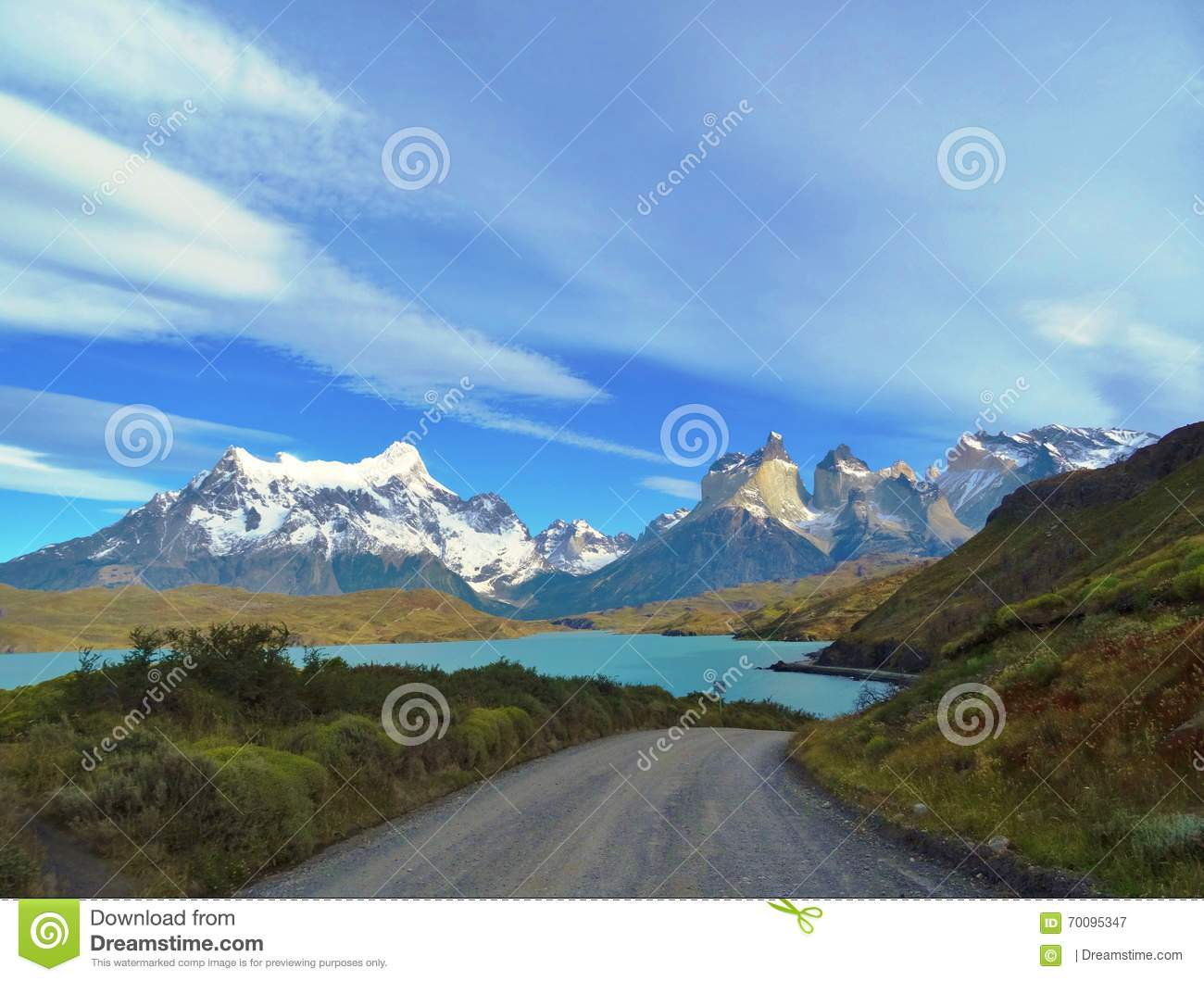 Paysage - Torres del Paine, Patagonia, Chili