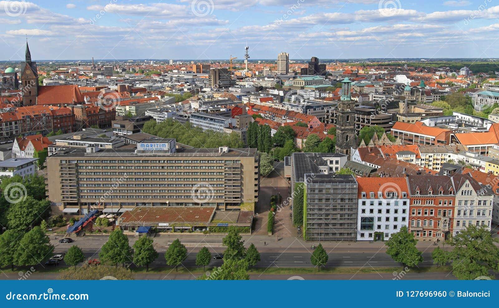 Paysage urbain Allemagne de Hanovre