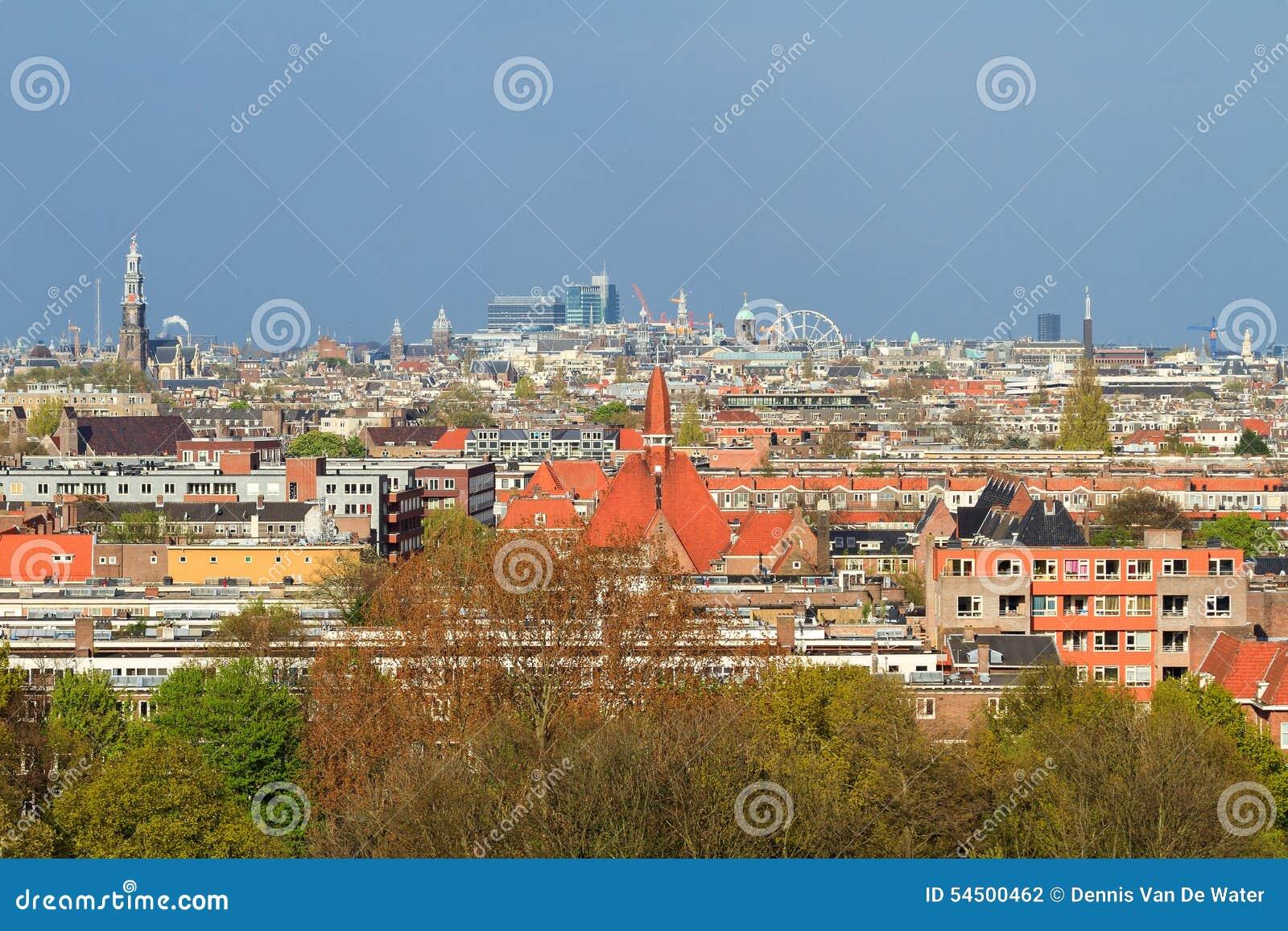 Paysage urbain Amsterdam