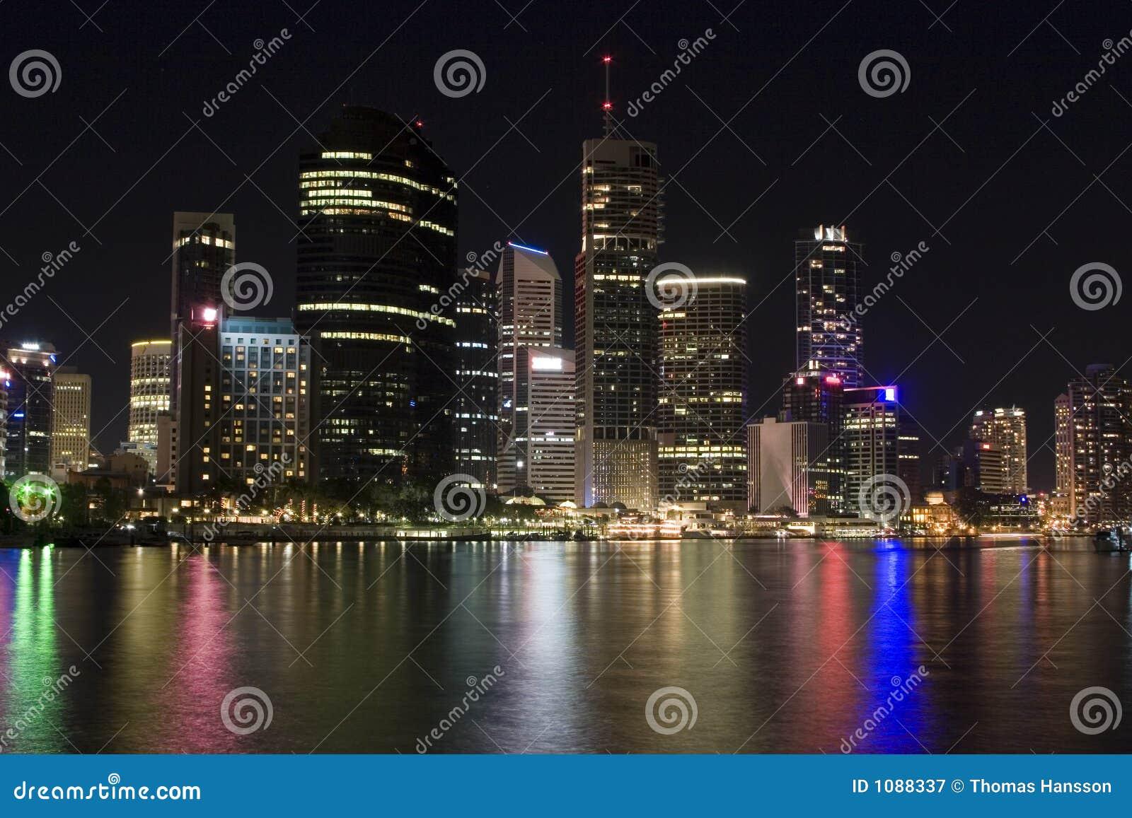 Paysage urbain de Brisbane