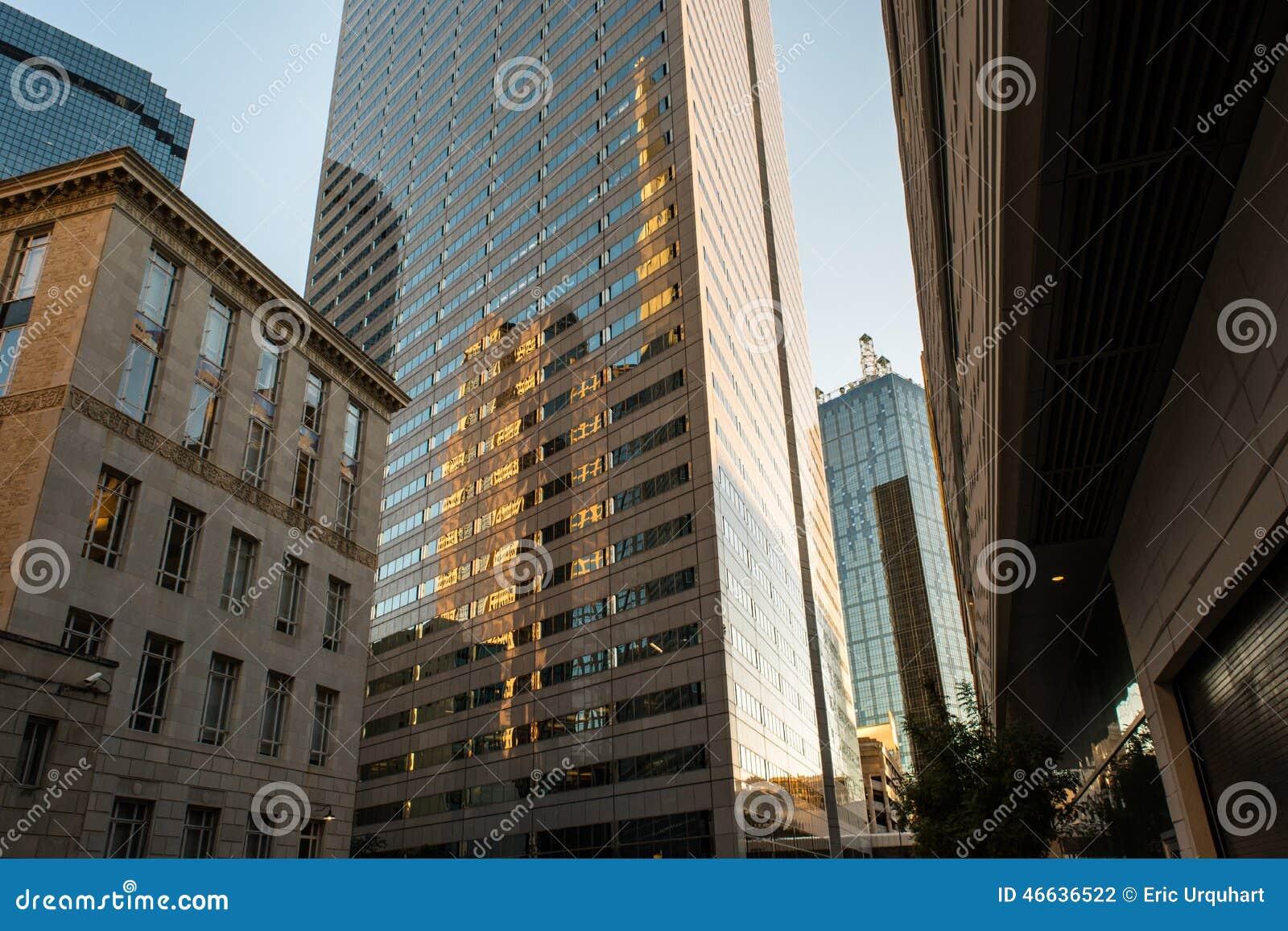 Paysage urbain de Dallas
