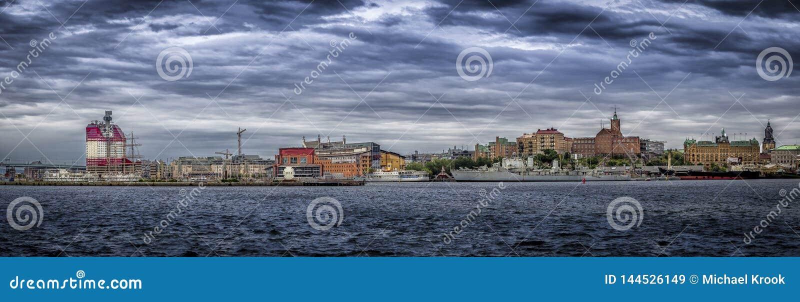 Paysage urbain de Gothenburg