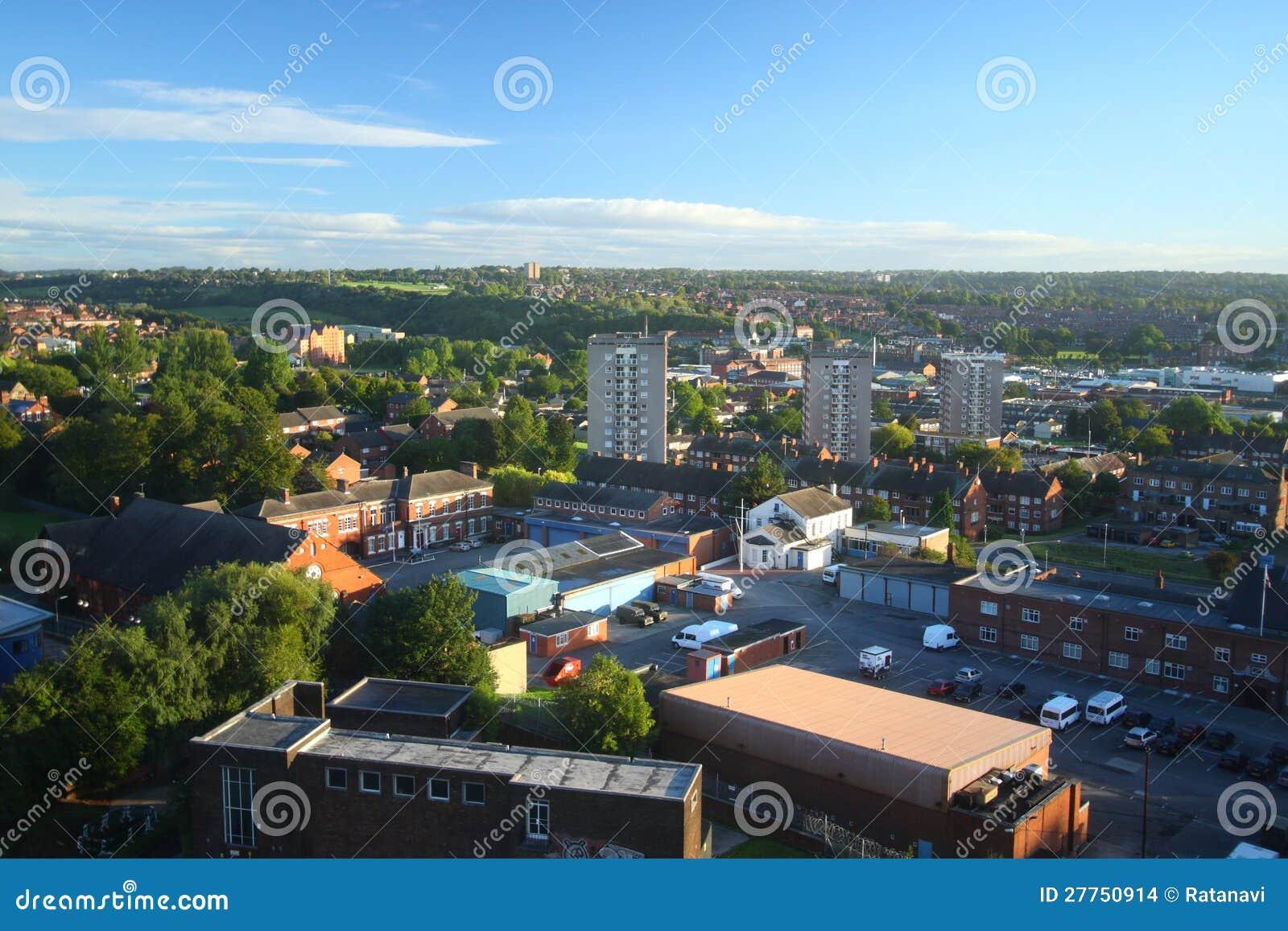Paysage urbain de Leeds