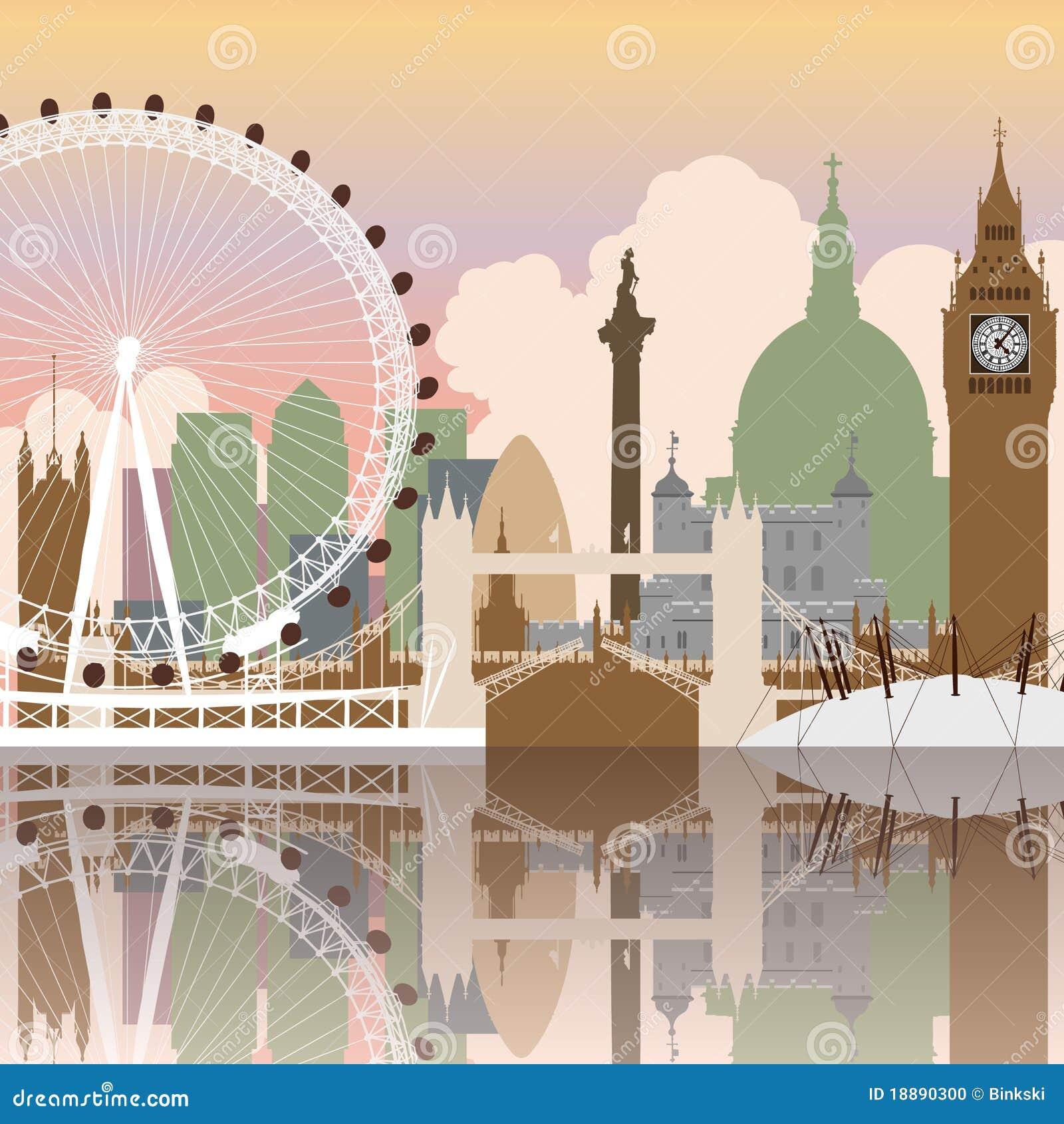 Paysage urbain de Londres
