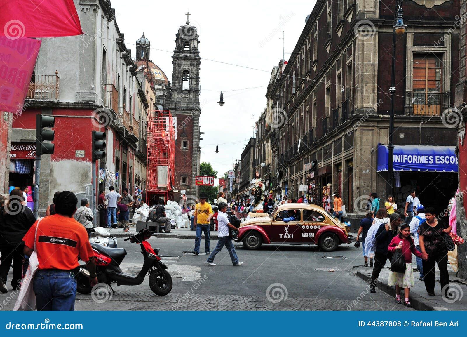 Paysage De Centre Ville De Mexico