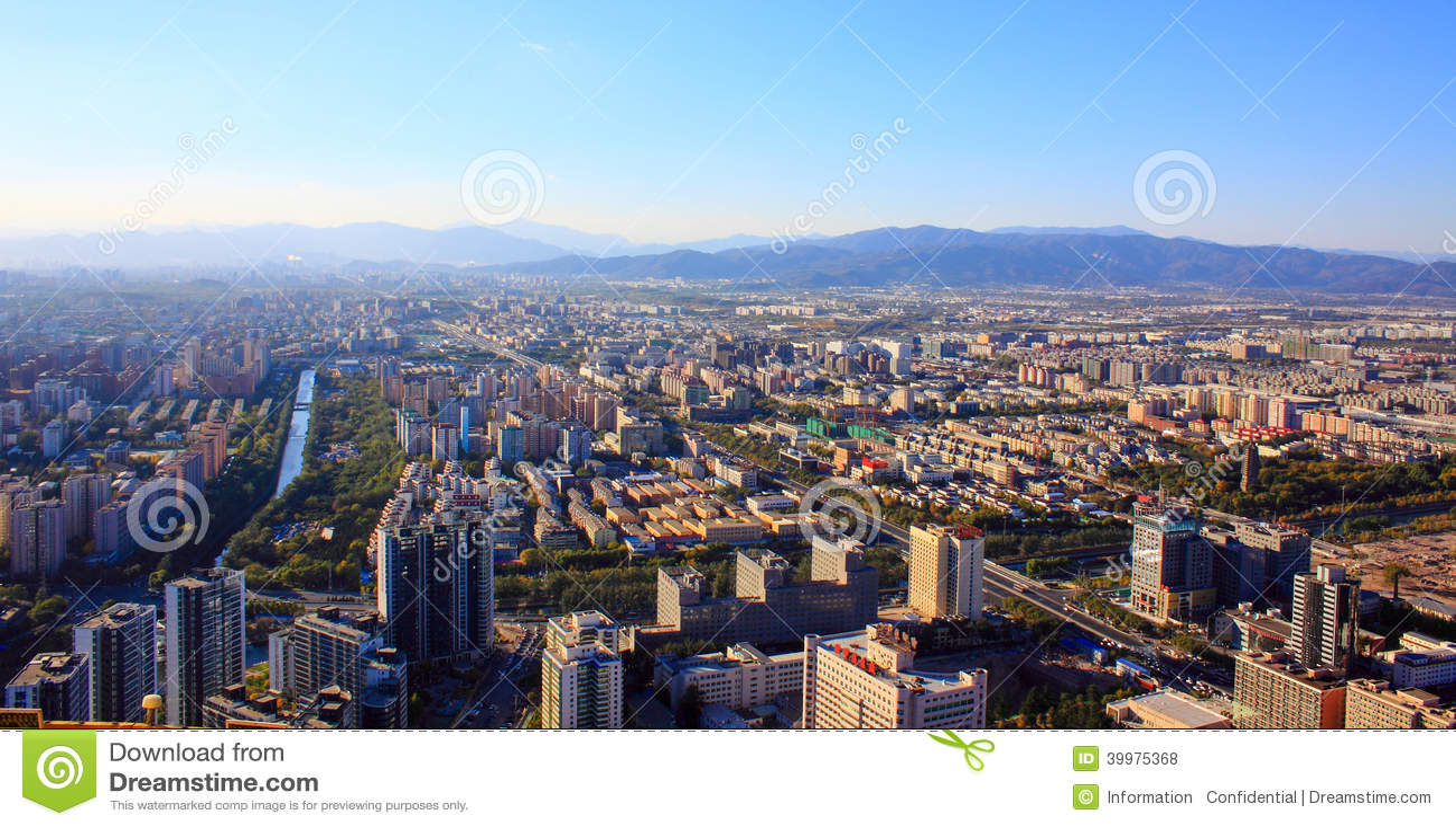 Paysage urbain de Pékin