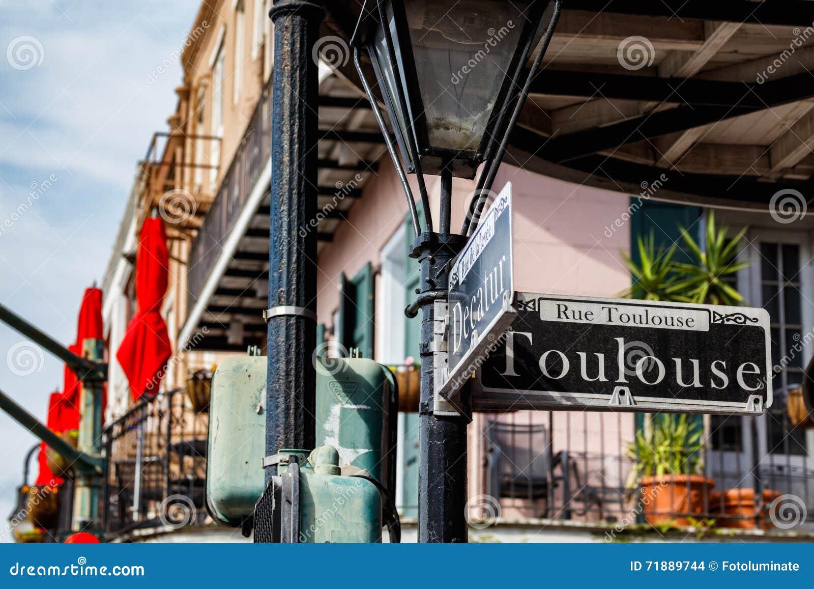 Paysage urbain de quartier français