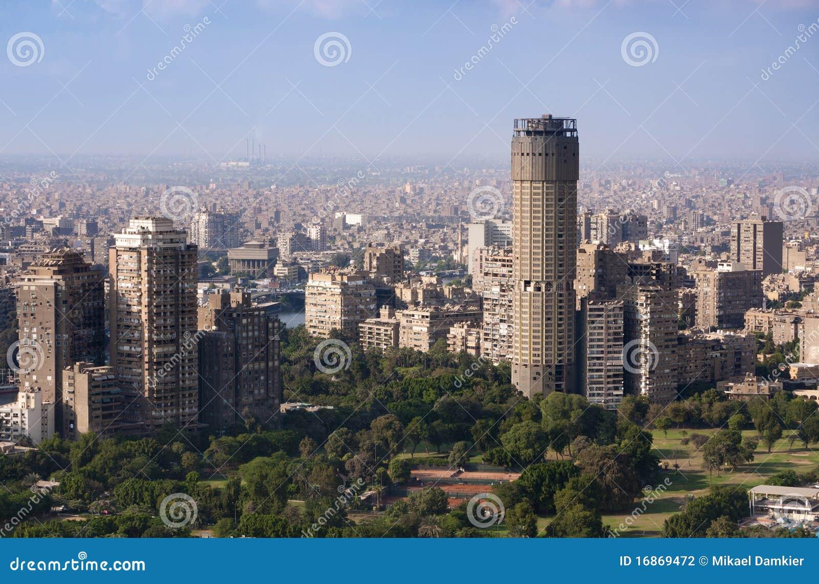 Paysage urbain du Caire
