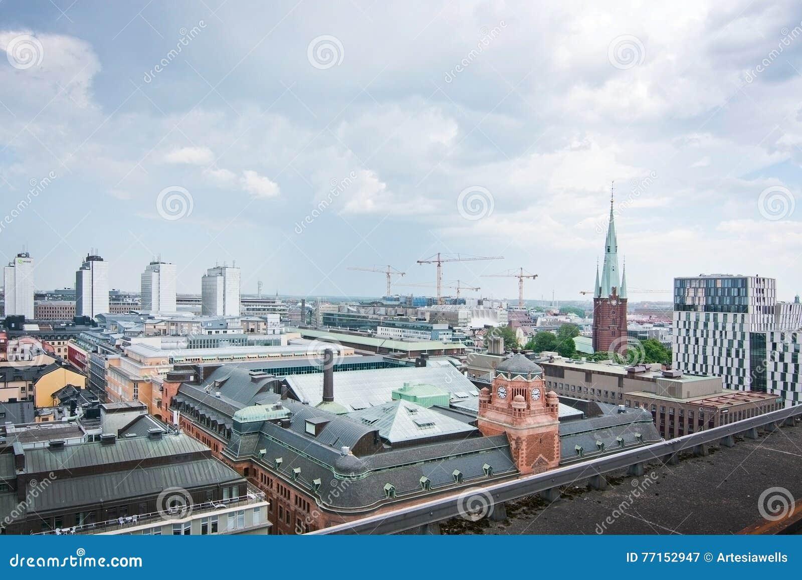 Paysage urbain Stockholm Suède