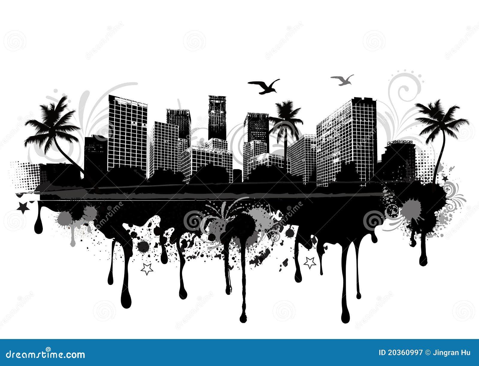 Paysage urbain urbain