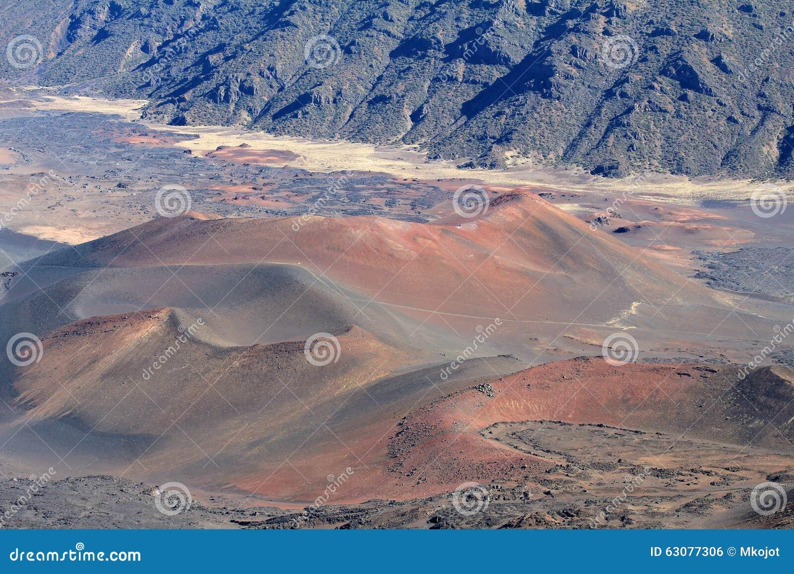 Download Paysage volcanique photo stock. Image du maui, vacances - 63077306