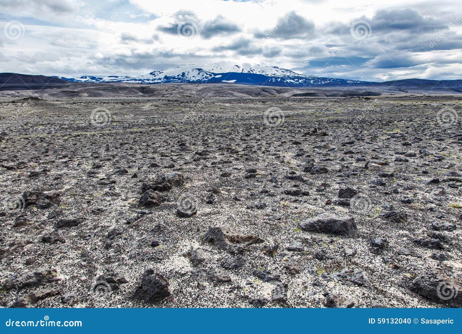 paysage volcanique terre en friche de pierre et de cendre photo stock image 59132040. Black Bedroom Furniture Sets. Home Design Ideas