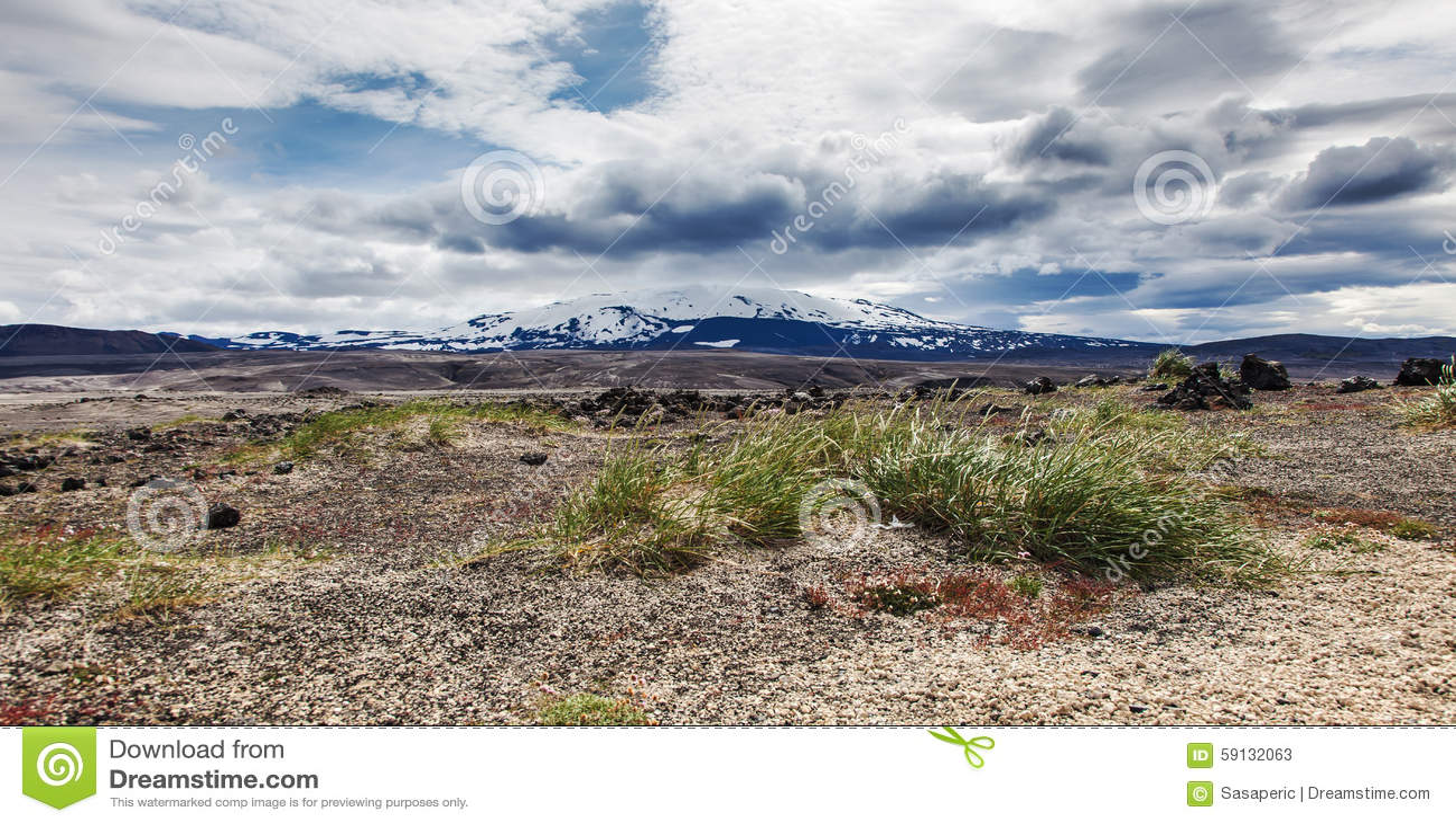 paysage volcanique terre en friche de pierre et de cendre photo stock image 59132063. Black Bedroom Furniture Sets. Home Design Ideas