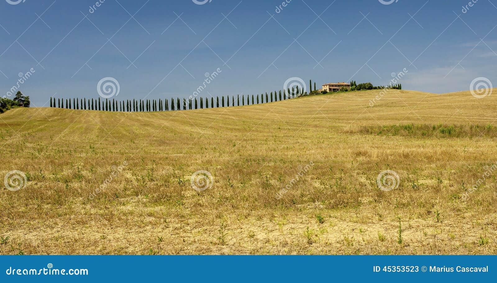 Paysages ruraux de la belle Toscane, Italie