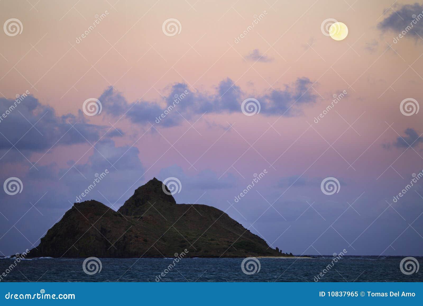 Pazifischer Moonrise