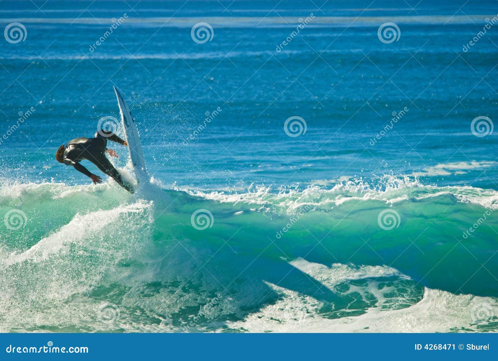 Pazifischer Surfer