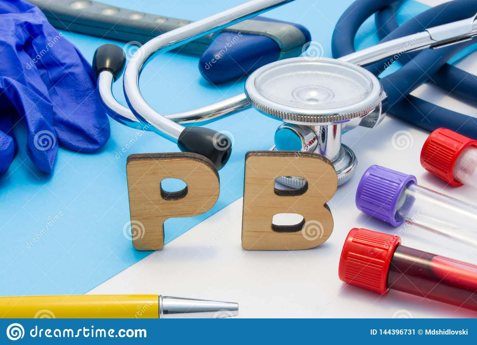 PB Medical Lab Acronym, Meaning Lead Or Plumbum In Human Body