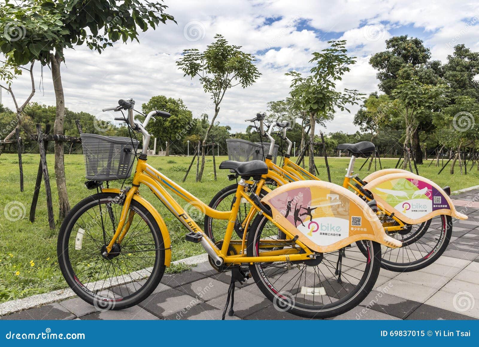Pbike, ένα δημόσιο σύστημα ενοικίου ποδηλάτων σε Pingtung