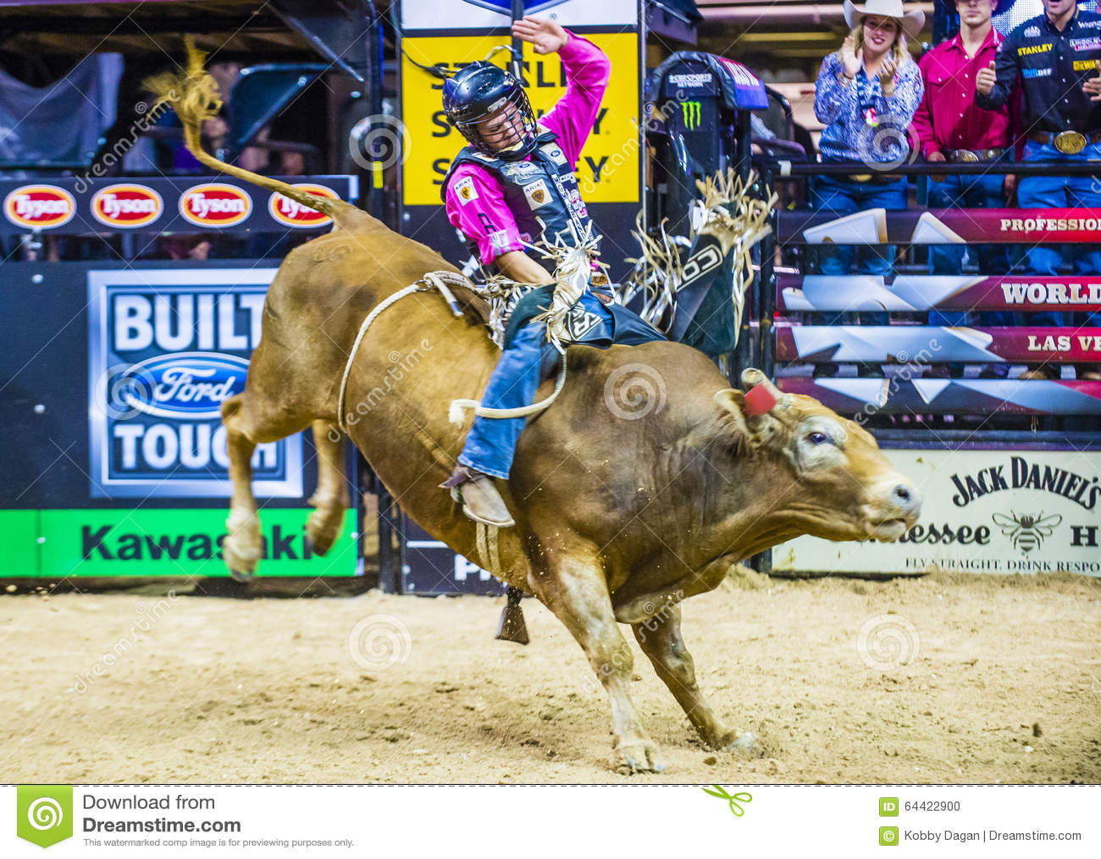 pbr bull riding world finals editorial image - image of west, dakota