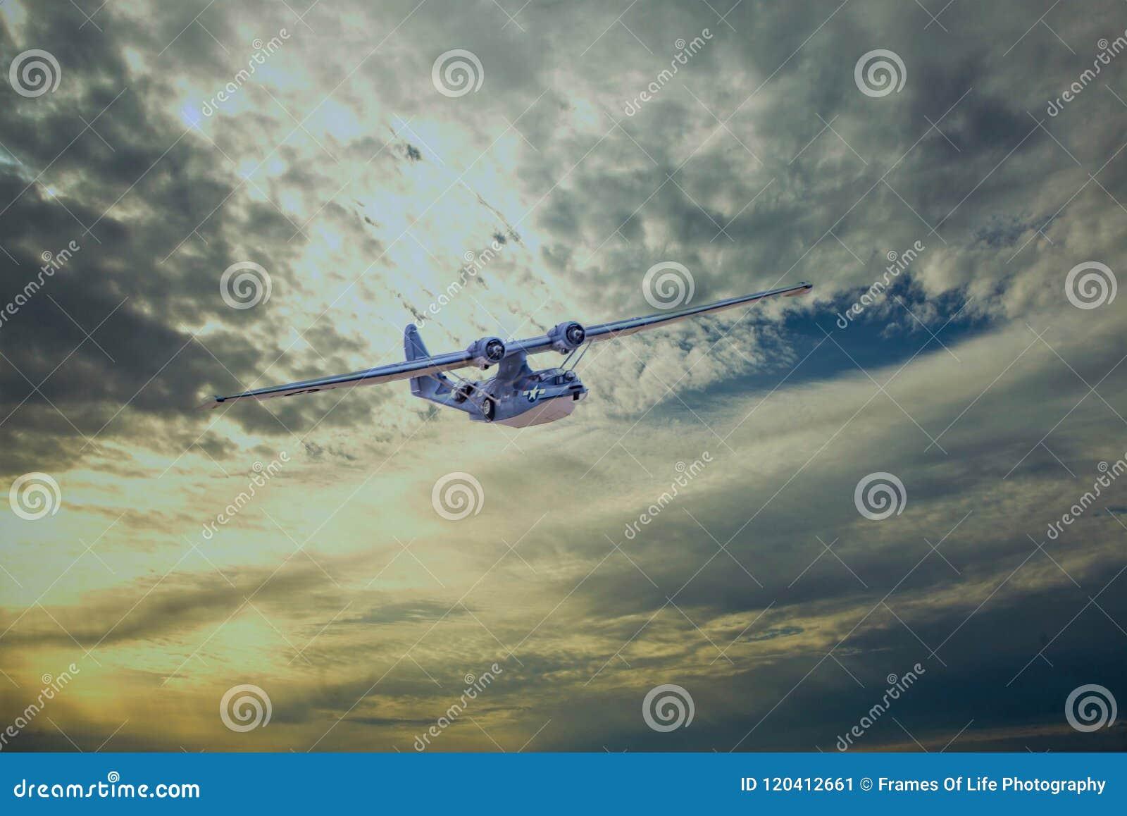 PBY-5A Catalina samolotu Średnia bombowiec